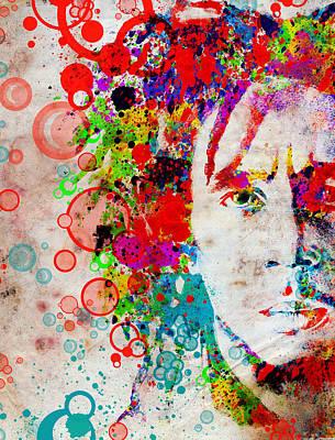 Bob Marley Abstract Painting - Marley 4 by Bekim Art
