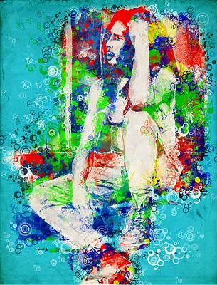 Rasta Painting - Marley 6 by Bekim Art