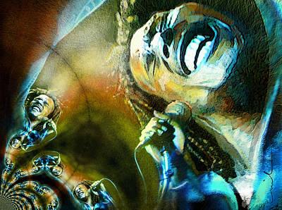 Painting - Marleymania by Miki De Goodaboom
