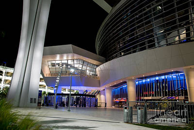 Photograph - Marlins Park Stadium Miami 10 by Rene Triay Photography
