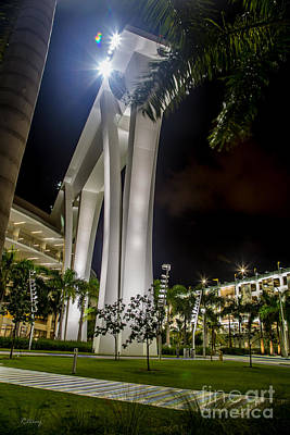 Photograph - Marlins Park Stadium Miami 11 by Rene Triay Photography