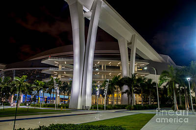 Photograph - Marlins Park Stadium Miami 12 by Rene Triay Photography