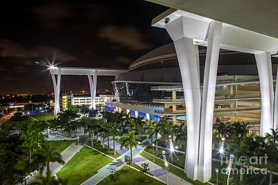 Photograph - Marlins Park Stadium Miami 14 by Rene Triay Photography