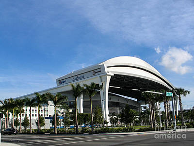 Photograph - Marlins Park Stadium Miami 16 by Rene Triay Photography