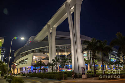 Photograph - Marlins Park Stadium Miami 2 by Rene Triay Photography