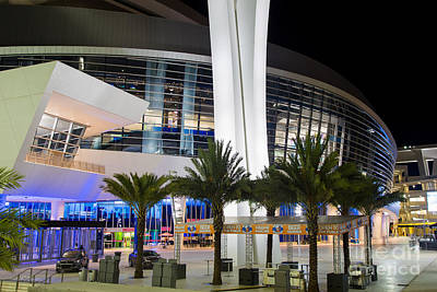 Photograph - Marlins Park Stadium Miami 5 by Rene Triay Photography