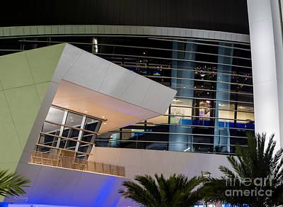 Marlins Park Stadium Miami 6 Print by Rene Triay Photography