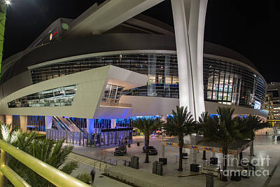 Photograph - Marlins Park Stadium Miami 7 by Rene Triay Photography