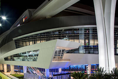 Photograph - Marlins Park Stadium Miami 8 by Rene Triay Photography