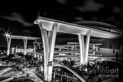 Photograph - Marlins Park Stadium by Rene Triay Photography