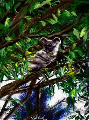 Candid Painting - Marlon's Koala No. 1 by Katherine Urbahn