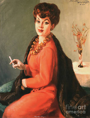 Updo Painting - Marlow Dwyer by Art By Tolpo Collection