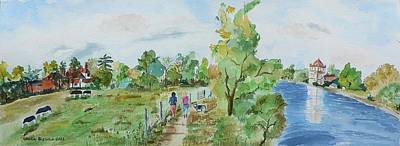 Painting - Marlow On Thames 3 by Geeta Biswas