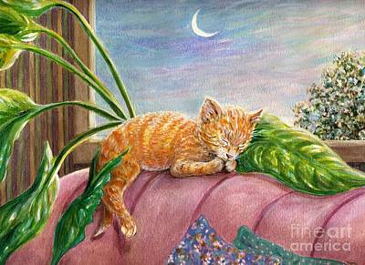 Painting - Marmalade by Dee Davis