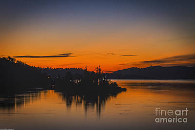 Clearlake Photograph - Marmalade Skys by Mitch Shindelbower