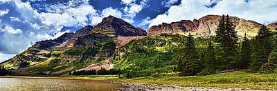 Photograph - Maroon Bells And Crater Lake by Ken Smith