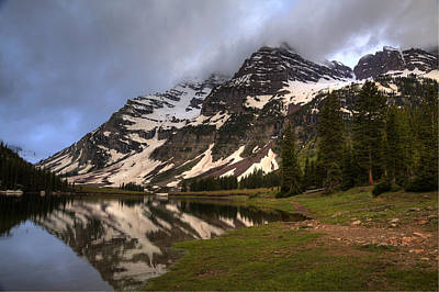 Photograph - Maroon Bells Storm by Alan Vance Ley