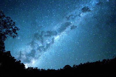 Photograph - Maroon Dam Milky Way Rising by K.muller