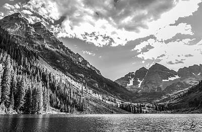 Photograph - Maroon Lake by Aaron Spong
