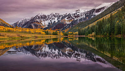 Photograph - Maroon Lake by Darren  White