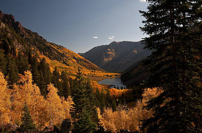 Photograph - Maroon Lake In The Fall by Lee Kirchhevel
