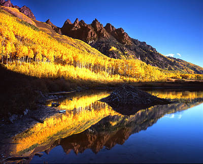 Photograph - Maroon Lake Morning by Ray Mathis