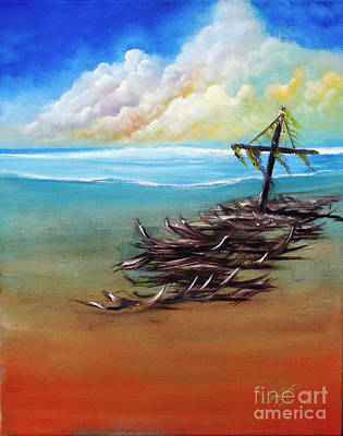 Painting - Marooned by David Kacey