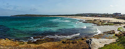 Maroubra Photograph - Maroubra Bay by Sean H Choe