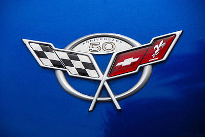 Photograph - Marque 50th Anniversary Corvette by John Schneider