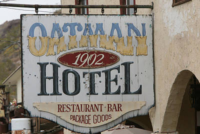 Photograph - The Oatman by Gilbert Artiaga