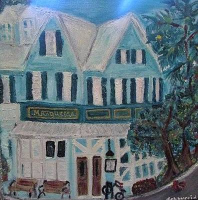 Painting - Marquessa Hotel Key West Fla by Debby Reid
