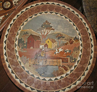 Photograph - marquetry artwork from Madagascar 2 by Rudi Prott