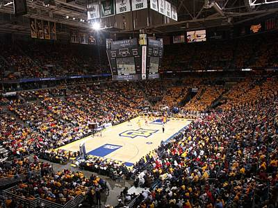 Marquette Golden Eagles Bmo Harris Bradley Center Art Print by Replay Photos