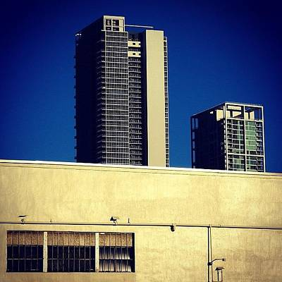Skylines Photograph - Marquis Bldg. & Museum Ten Bldg. - by Joel Lopez