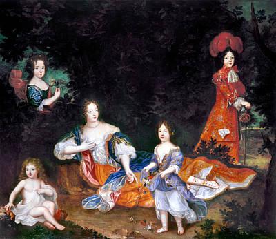Marquise De Montespan(1641-1707) Art Print by Granger