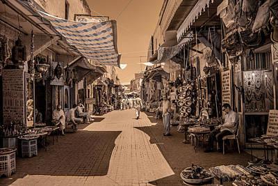 Marrackech Souk At Noon Art Print