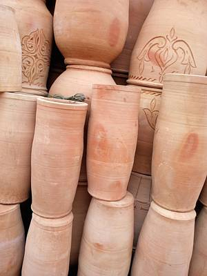 Marrakech Ceramics Part Two Original by Yas Grant