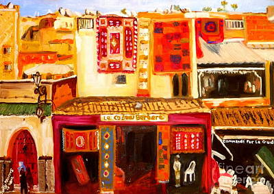 Painting - Marrakech by Judy Morris