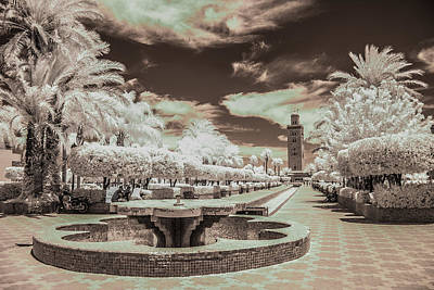 Photograph - Marrakech - La Koutoubia by Ellie Perla