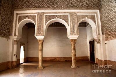 Madrasa Photograph - Marrakesh Madrasa Ben Youssef by Sophie Vigneault