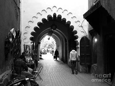 Marrakesh Medina Art Print by Sophie Vigneault