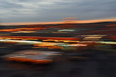Rowing Royalty Free Images - Marrakesh Night Lights Royalty-Free Image by Simon Dack