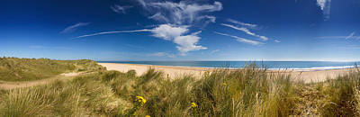 Marram Grass, Dunes And Beach Art Print by Panoramic Images