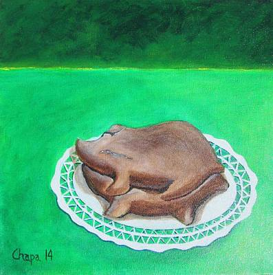 Painting - Marranitos by Manny Chapa