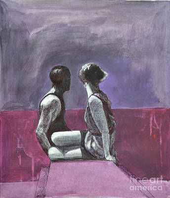 Painting - Marriage by Diane montana Jansson