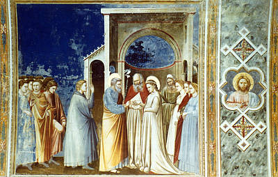 Bondone Painting - Marriage Of The Virgin by Granger