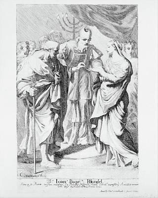 Marriage Of The Virgin Art Print by Robert van Audenaerde