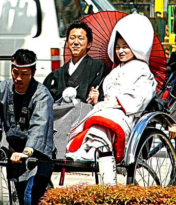 Photograph - Marriage Tradition Tokyo by John Potts
