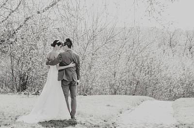 Photograph - Married In June by Valerie Rosen