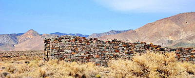 Photograph - Marrieta Nevada Ruins by Marilyn Diaz